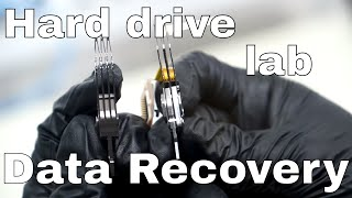 Download Data Recovery: Hard Drive Platter Swap in Our Lab! Video