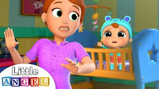 Download It's Time to Sleep, Baby John! | Bedtime Routine Song | Little Angel Nursery Rhymes Video