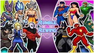 Download DRAGON BALL SUPER vs JUSTICE LEAGUE! (Beerus, Jiren, Goku vs Superman, Batman, Flash) RUMBLE REWIND! Video