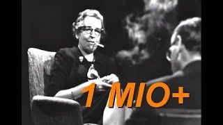 Download Hannah Arendt im Gespräch mit Günter Gaus Video