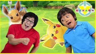 Download Ryan Plays Let's go Pikachu & Evee on Nintendo Switch Video