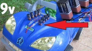 Download Power Wheels Mod (9 volt batteries? how many?) Video