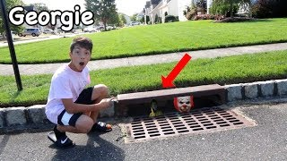 Download HUNTING FOR GEORGIE FROM THE MOVIE ″IT″ *I FOUND HIM!* Video