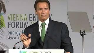 Download Arnold Schwarzenegger speaks at the Vienna Energy Forum 2011 Video