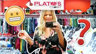 Download SIZE 12 GIRL TRIES PLATO'S CLOSET Video