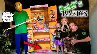 Download Baldi's Basics in the Dark!!! Pikmi Pops Toy Scavenger Hunt! He Found Our Pikmi Pop Box! Video