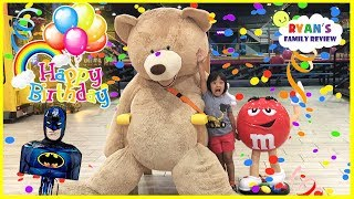 Download Ryan's 6th Birthday Surprise Balloons Pop Challenge + Indoor Playground Play Area for Kids Playing Video