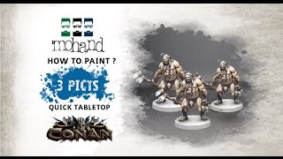 Download How to paint Pack de Pict ! Tabletop Conan Video