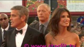 Download George Clooney and Elisabetta together at venice Film festival Video