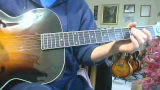 Download ALL SOLID WOOD HAND CARVED ARCHTOP THE LOAR LH600 NITROCELLUSE Video