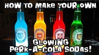 Download How to Make Your Own GLOWING Perk-A-Cola Sodas! Video