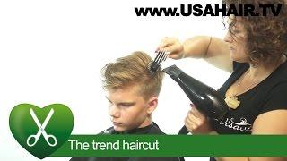 Download The trend haircut. parikmaxer TV USA Video