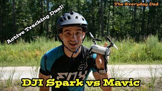 Download DJI Spark vs DJI Mavic Pro! Smart Flight Active Track Comparison Video
