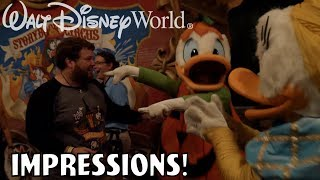 Download I'VE NEVER SEEN DONALD HAPPIER!! - Disney World Impressions Halloween Video