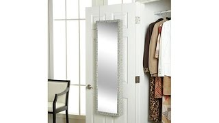 Download OvertheDoor Jewelry Armoire with FullLength Mirror Video