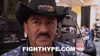 Download LEO SANTA CRUZ'S FATHER/TRAINER REVEALS CHANGES MADE FOR CARL FRAMPTON REMATCH; DEFENSE WAS FOCUS Video