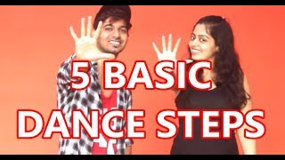 Download Easy HipHop dance steps - Part 1 | Vicky & Aakanksha Video
