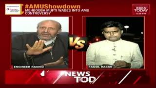 Download AIMIM's Owaisi Wades Into AMU Showdown Saying Students Should Be Left Alone Video