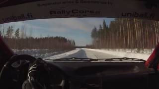 Download Henri Niemi & Niko Mäkinen Keski-Karjala Ralli EK3 Video