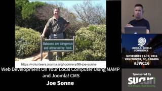 Download JWC 2016 - Web Development On Your Local Computer Using MAMP and Joomla! CMS - Joe Sonne Video