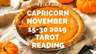 Download Capricorn WOW! A TRUE SPIRIT LIFTER!! Nov. 15-30 Tarot Reading Video
