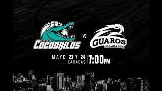 Download Cocodrilos de Caracas vs Guaros de Lara LPB2018 23-05-2018 Video