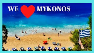 Download The BEACHES of MYKONOS, GREECE: the GOOD, the BAD and the SUPER UGLY Video