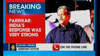 Download Strong response forced Pakistan to beg us to stop: Manohar Parrikar Video