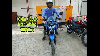 Download NEW Honda X Blade Test Ride Review  0-60kmph Time  Video