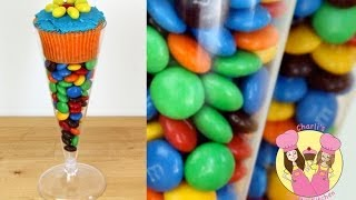 Download COCKTAIL GLASS TAKE HOME CUPCAKE TREAT with M&M's- candy bar, lolly buffet, birthday party Video