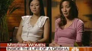 Download Ziyi Zhang and Michelle Yeoh talk about Mememoirs of A Geisha on NBC's Today show Video