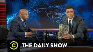 Download John Lewis Extended Interview - Getting Into Trouble to Fight Injustice: The Daily Show Video