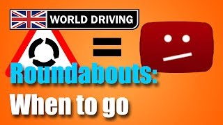 Download When To Go At Busy UK Roundabouts - Hesitation at roundabouts? Video