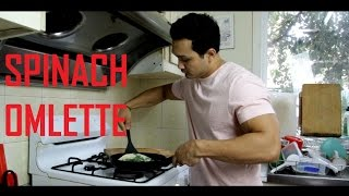 Download SPINACH OMELETTE (MEAL 2) [HINDI] // TRAIN WITH ME Video