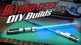 Download How to Turn a Toy Lightsaber into a Combat Ready Lightsaber - Beyond Geek DIY Builds Video