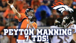 Download Peyton Manning Humiliates Ravens Defense in 2013! || Throwback Highlights Video