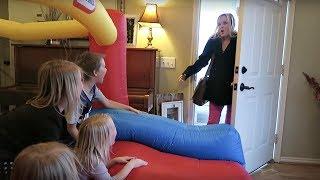 Download Giant Indoor Bounce House! Video