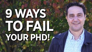 Download 9 Ways To Fail Your PhD! Video