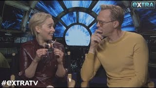 Download Emilia Clarke and Paul Bettany Dish on 'Solo: A Star Wars Story' Video