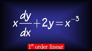 Download first order linear differential equation (Nagle hw sol sect 2.3#9) Video