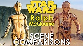 Download Star Wars Art: Ralph McQuarrie - scene and painting comparisons Video