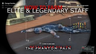 Download MGSV: TPP - How To Farm ELITE & LEGENDARY Staff For Your Motherbase Video