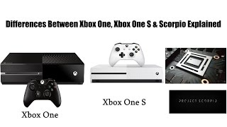 Download Differences Between Xbox One, Xbox One S & Xbox Scorpio Explained Video