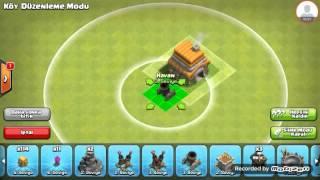 Download Clash of Clans Belediye Binasi 6 Seviye Köy Düzeni Video