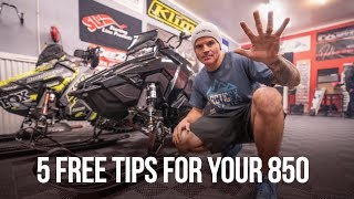 Download 5 FREE tips for your Polaris 850 before you ride it Video