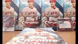 Download 2018 Topps Chrome Baseball Hobby Box #1 Video