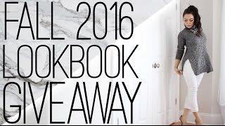 Download Fall 2016 LOOKBOOK giveaway Video