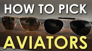 Download How to Pick Aviator Shades | The Art of Manliness Video