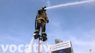 Download Dubai's Firefighters May Get Water Jetpacks Video