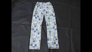 Download KIDS COTTON NIGHT DRESS PANT CUTTING AND STITCHING IN TAMIL Video
